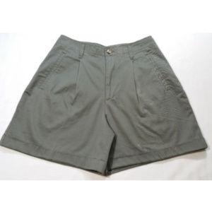 EDDIE BAUER Women Chino Shorts 100% Cotton 1263E1